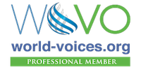 WoVo Site Badge Professional 200x100 on clear